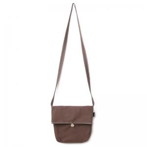 Canvas Fold Down Crossbody Bag