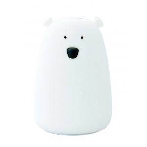 Rechargeable Bear Silicon Color Change LED Night Light