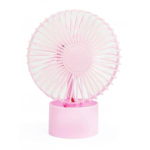 Rechargeable Portable Mini Sun Flower Fan - Pink