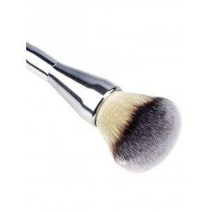 Taper Plating Handle Multifunctional Portable Foundation Brush -