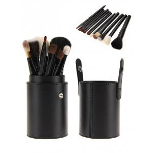 12Pcs Multipurpose Makeup Brushes Kit with Bucket