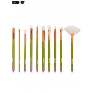 MAANGE 10Pcs Ombre Makeup Brushes Set