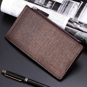 Bifold Faux Leather Organizer Wallet - Or