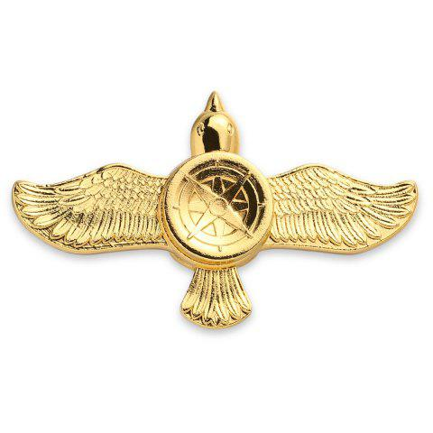 Outfit Stress Relief Toy Eagle Shape Fidget Metal Spinner