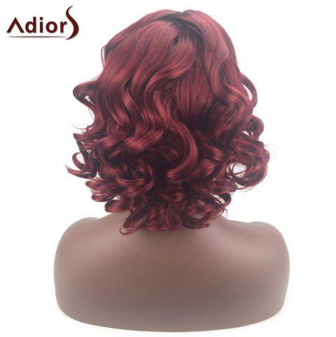 Store Adiors Color Mix Short Shaggy Side Part Curly Synthetic Wig - COLORMIX  Mobile
