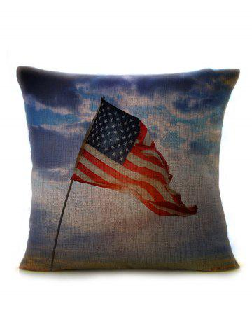 Outfit Linen Patriotic American Flag Pillow Case