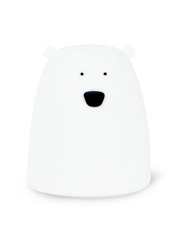 Latest Silicon Bear Color Change LED Night Light - WHITE  Mobile