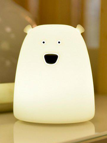 Best Silicon Bear Color Change LED Night Light - WHITE  Mobile