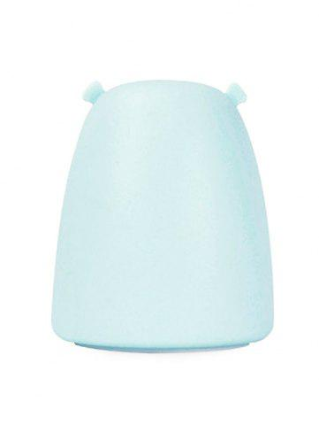 Cheap Silicon Bear Color Change LED Night Light - BLUE  Mobile