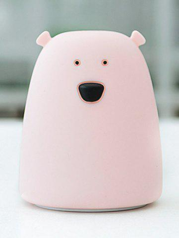 Best Silicon Bear Color Change LED Night Light - PINK  Mobile