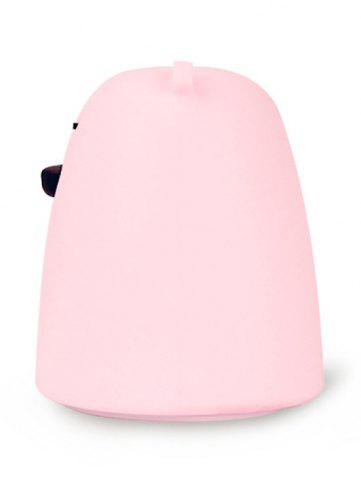 Cheap Silicon Bear Color Change LED Night Light - PINK  Mobile