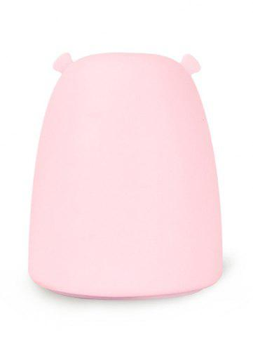 Sale Silicon Bear Color Change LED Night Light - PINK  Mobile