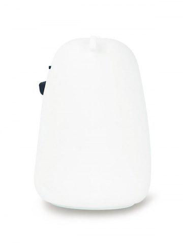 New Rechargeable Bear Silicon Color Change LED Night Light - WHITE  Mobile