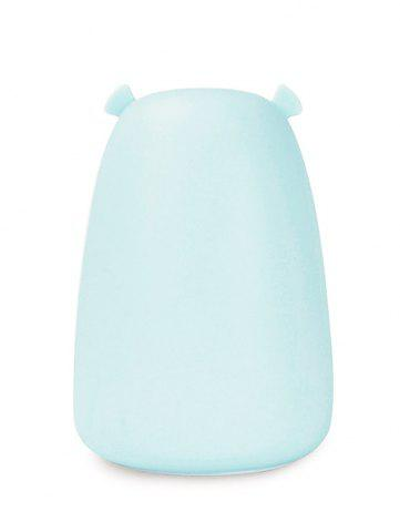 Shops Rechargeable Bear Silicon Color Change LED Night Light - BLUE  Mobile