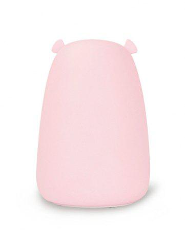 Outfit Rechargeable Bear Silicon Color Change LED Night Light - PINK  Mobile