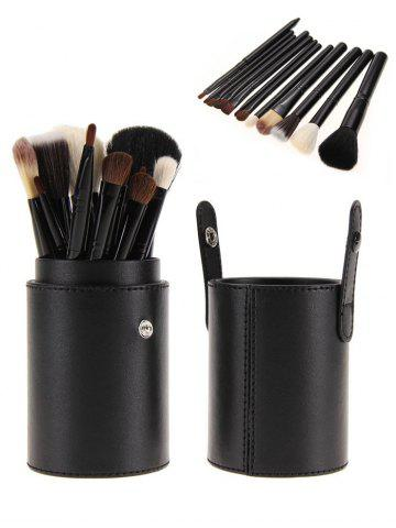 New 12Pcs Multipurpose Makeup Brushes Kit with Bucket