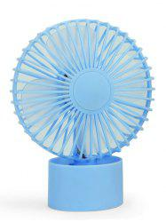 Rechargeable Portable Mini Sun Flower Fan - BLUE