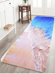 Coral Fleece Beach Water Absorption Bath Rug