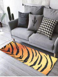 Flannel Skidproof Tiger Stripe Bathroom Rug