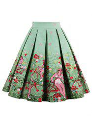 Floral Print High Waist Skirt Cheap Shop Fashion Style With Free ...