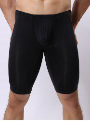 U Contour Pouch High Stretch Boxers - BLACK