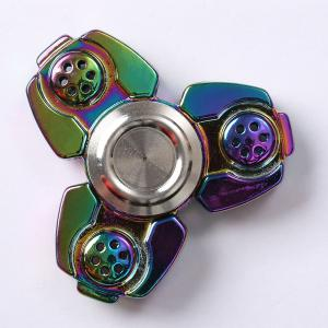 Russia CKF Alloy Finger Gyro Stress Relief Toys Fidget Spinner -