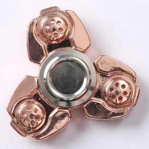 Russia CKF Alloy Finger Gyro Stress Relief Toys Fidget Spinner - ROSE GOLD