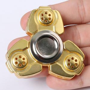 Russia CKF Alloy Finger Gyro Stress Relief Toys Fidget Spinner - GOLDEN