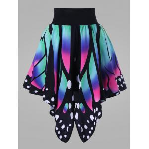 Butterfly Shape Plus Size Skirt