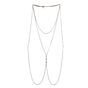 Rhinestone Body Chain Jewelry -