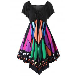 Butterfly Graphic Dress