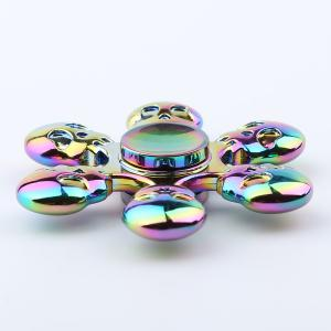Fidget Toy Skull Blades Fast Bearing Hand Spinner - COLORFUL 6.5*6.5*1.3CM