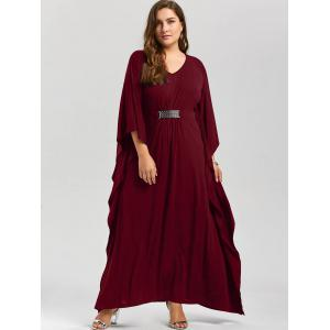 Plus Size Kaftan Maxi Dress -