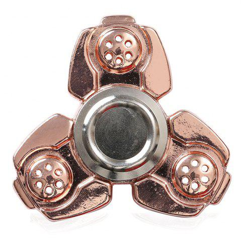 Latest Russia CKF Alloy Finger Gyro Stress Relief Toys Fidget Spinner ROSE GOLD
