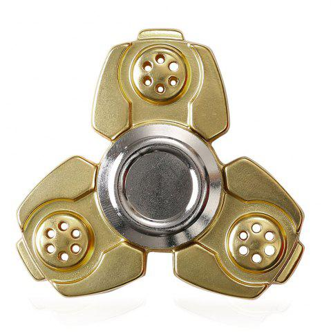 Outfits Russia CKF Alloy Finger Gyro Stress Relief Toys Fidget Spinner GOLDEN