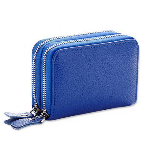 Buy Zip Around Faux Leather Card Bag