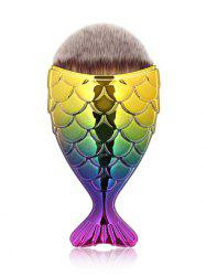 Portable Mermaid Facial Makeup Brush