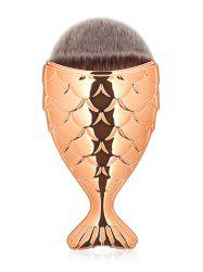 Brosse à maquillage facial MAANGE Portable Mermaid