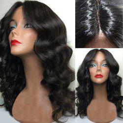 Center Part Long Body Wave Synthetic Wig