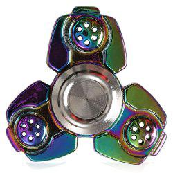Russia CKF Alloy Finger Gyro Stress Relief Toys Fidget Spinner - COLORFUL