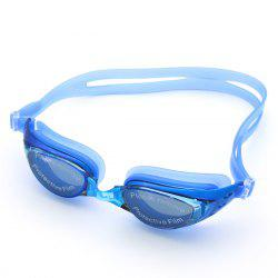 Sport Anti Fog Waterproof UV Protection Plain Mirrored Swimming Goggles