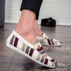 Striped Multicolor Casual Shoes