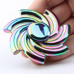High Speed Rainbow Cyclone Fidget Spinner Gyro -