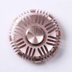 Fiddle Toy Aluminum Alloy Round Fidget Spinner - PINK