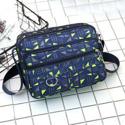 Nylon Printed Crossbody Bag