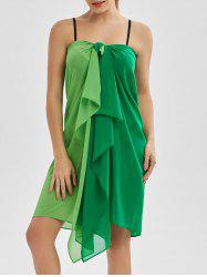 Multi-port-usure Chiffon Beach Cover-ups - Vert