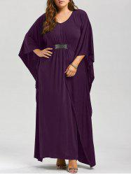 Plus Size Kaftan Maxi Dress