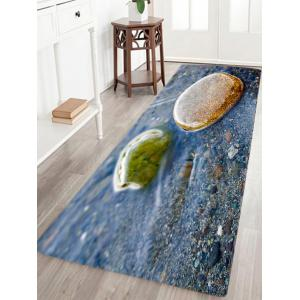 Stone In The Water Pattern Slow Rebound Water Absorption Area Rug
