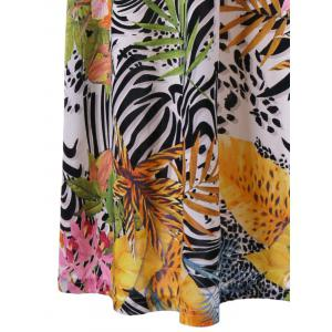 Cami Tropical Bohemian Maxi Dress - COLORMIX 2XL
