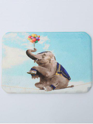 Attrayant Outfit Coral Fleece Water Absorbent Elephant Bath Rug